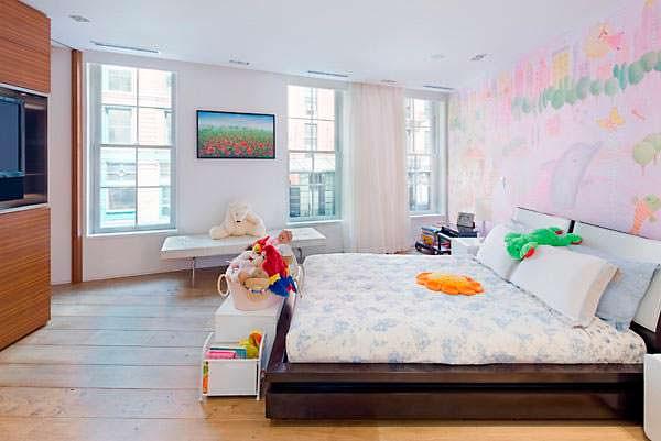 Детская спальня в квартире Тейлор Свифт в Нью-Йорке