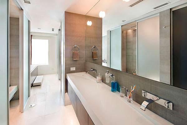 Дизайн ванной комнаты в квартире Тейлор Свифт на Манхэттене
