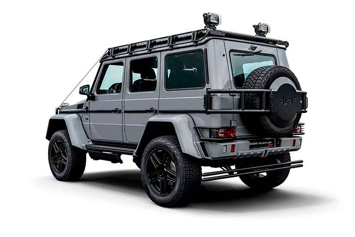 Тюнинг Mercedes-Benz G550 Adventure от Brabus