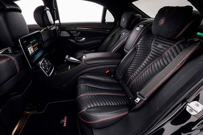 Фото салона Mercedes-Maybach S650 от Brabus
