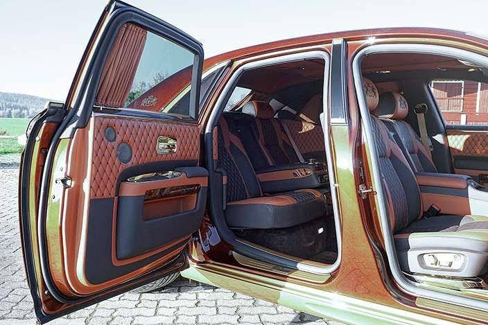 Внутри Rolls-Royce Ghost Series II от Mansory