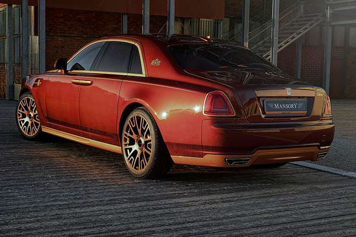 Салон Rolls-Royce Ghost Series II от Mansory