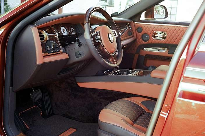 Тюнинг Rolls-Royce Ghost Series II от Mansory
