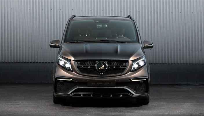 Тюнинг TopCar вывел Mercedes V-Class на новый уровень   фото