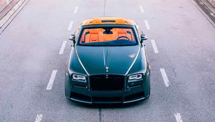 Spofec подготовил тюнинг кабриолета Rolls-Royce Dawn   фото