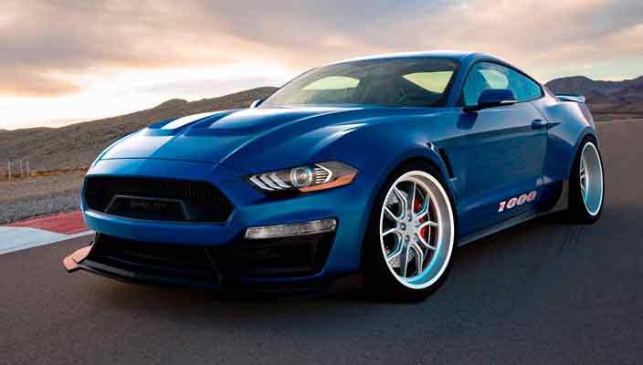 В Shelby прокачали Ford Mustang GT до 1 000-сил