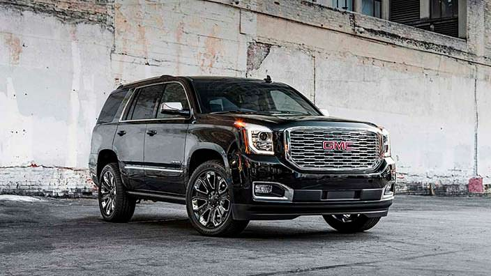 Самый дорогой 2018 GMC Yukon Denali Ultimate Black