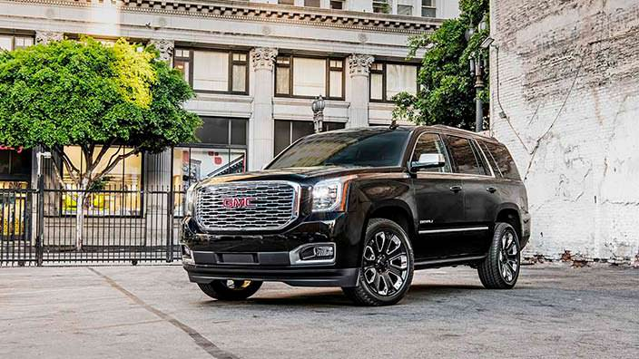 Новый 2018 GMC Yukon Denali Ultimate Black
