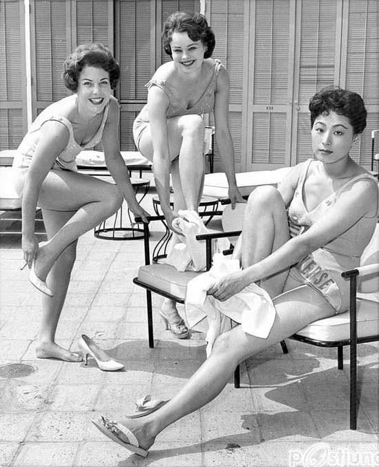 ТОП-3 «Мисс Вселенная 1959»