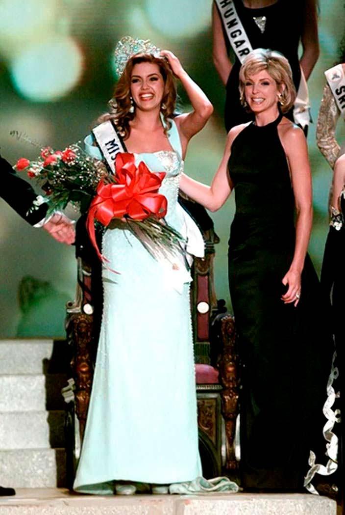 Алисия Мачадо - Мисс Вселенная 1996