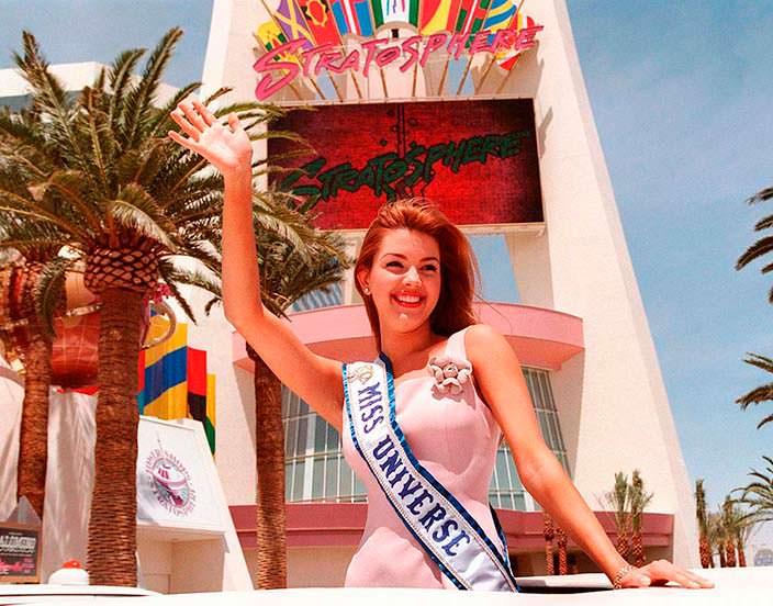 Алисия Мачадо - 45-я Мисс Вселенная