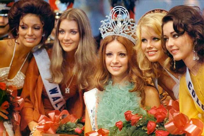 Ампаро Муньос - победительница Мисс Вселенная 1974