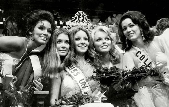 Самые красивые участницы Мисс Вселенная 1974