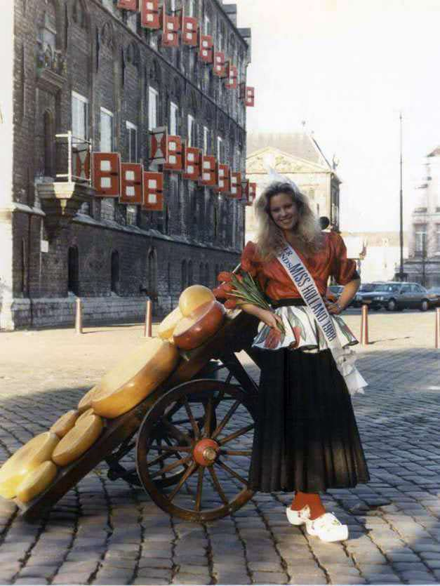 Ангела Виссер - Мисс Голландия 1988