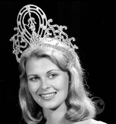 Анна Мария Похтамо - Мисс Вселенная из Финляндии