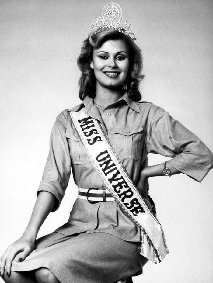 Анна Мария Похтамо - победительница Мисс Вселенная 1975