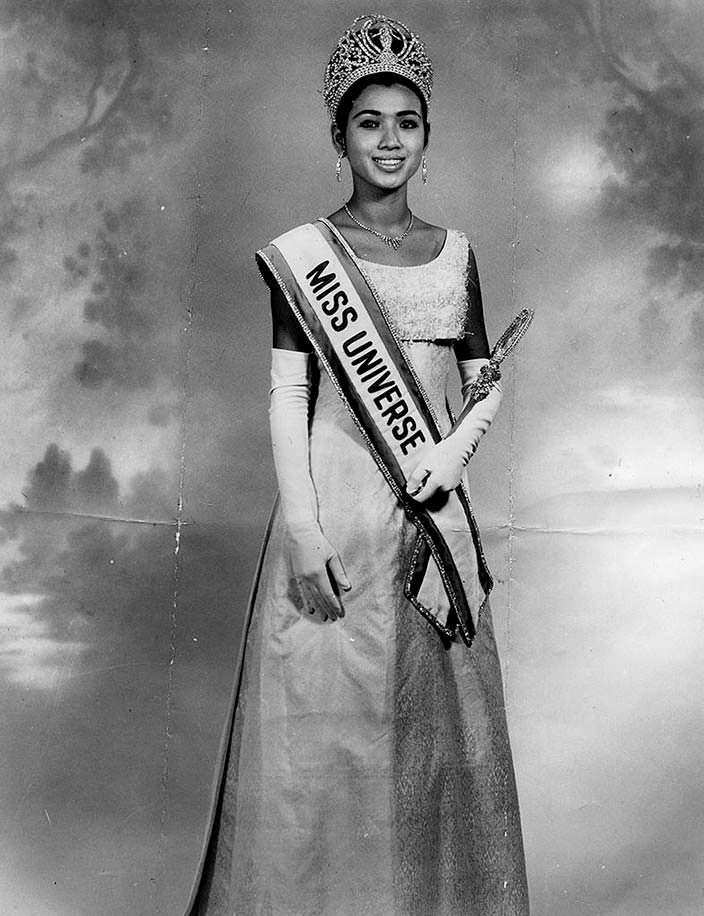 Aпасра Хонгсакула победительница «Мисс Вселенная 1965»