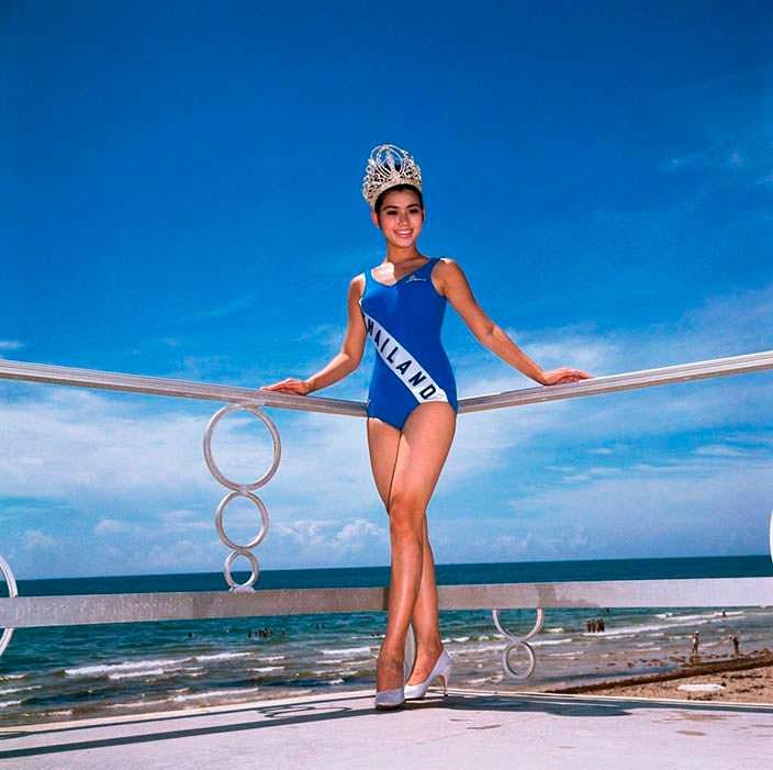 Aпасра Хонгсакула - первая Мисс Вселенная из Таиланда