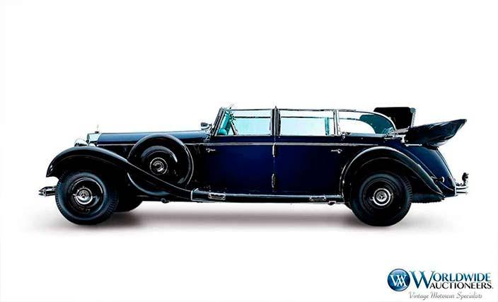 Автомобиль Адольфа Гитлера Mercedes-Benz 770K