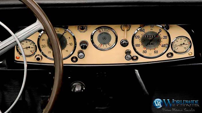 Приборная панель Mercedes-Benz 770K Grosser Offener Turenwagen