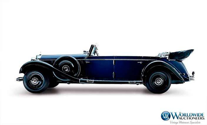 Машина Адольфа Гитлера Mercedes-Benz 770K