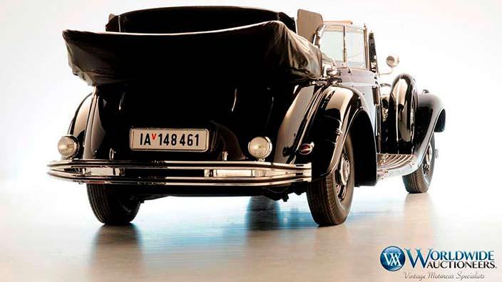 Парадный автомобиль Адольфа Гитлера Mercedes-Benz 770K
