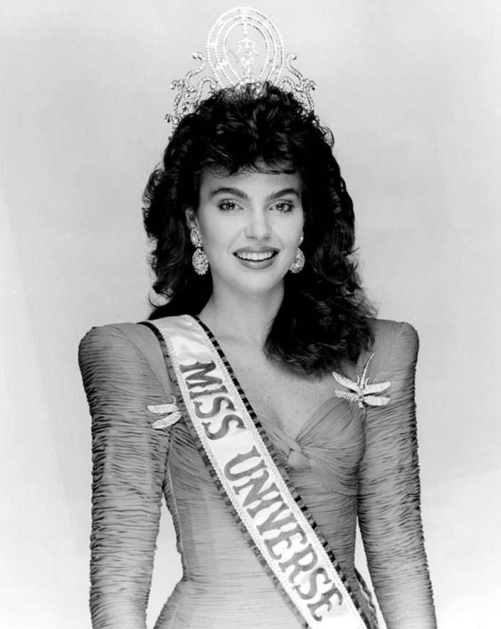 Барбара Паласиос Tейде - Мисс Венесуэла 1986