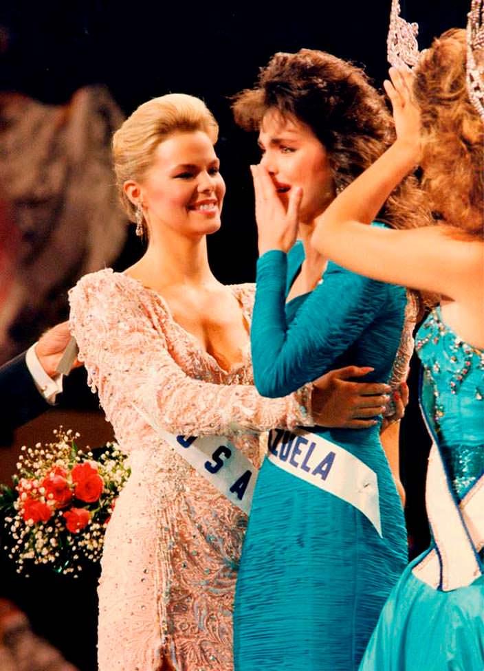 Победительница «Мисс Вселенная 1986»