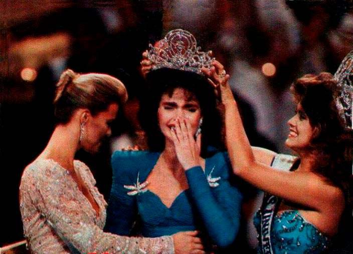 Коронация «Мисс Вселенная 1986»