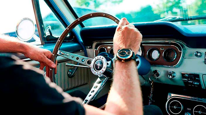 Часы с душой Ford Mustang от REC Watches