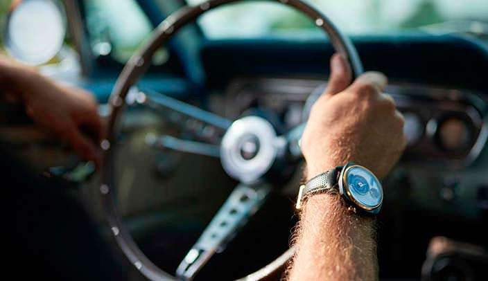Душа Ford Mustang в часах REC Watches