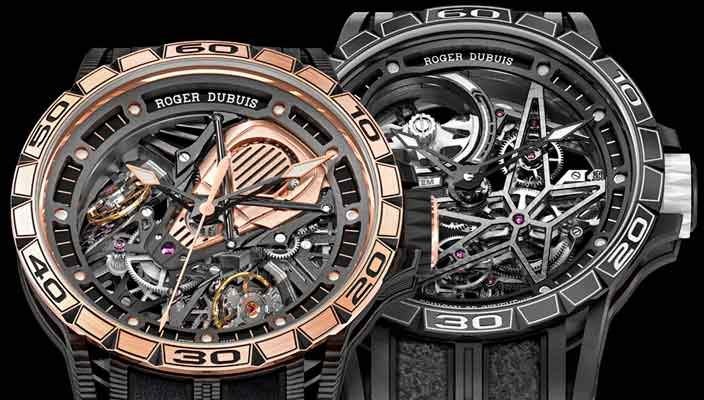 Roger Dubuis посвятил часы Pirelli и Aventador S