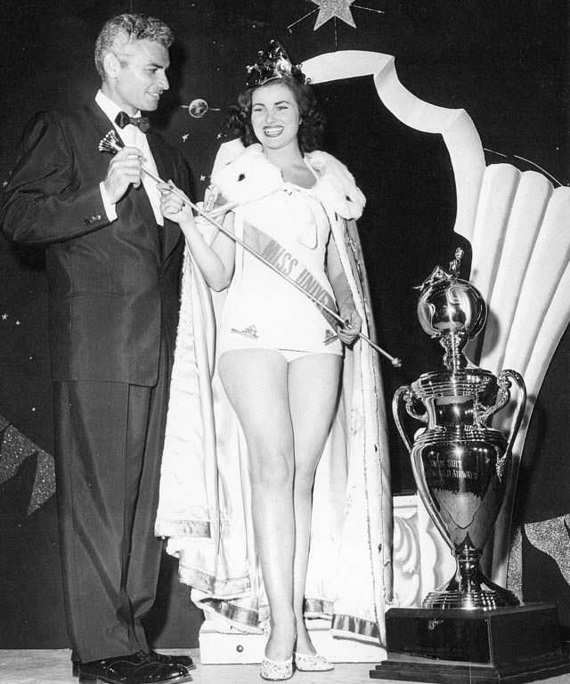 Кристиан Мартель Мисс Вселенная 1953