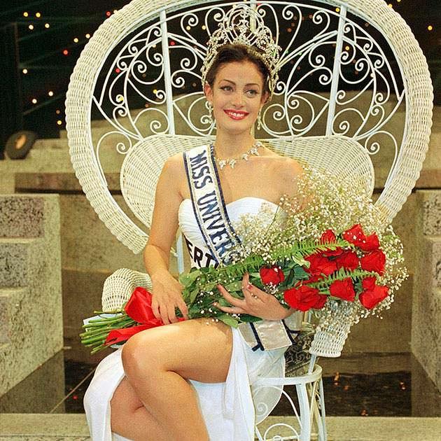 Дайанара Торрес - Мисс Интернешнл 1992 (ТОП-10)