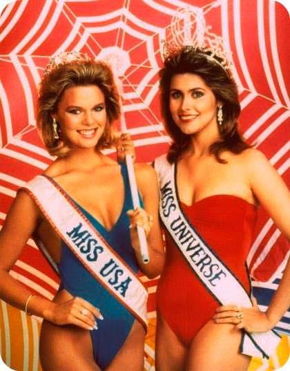 Мисс США и Мисс Вселенная 1985