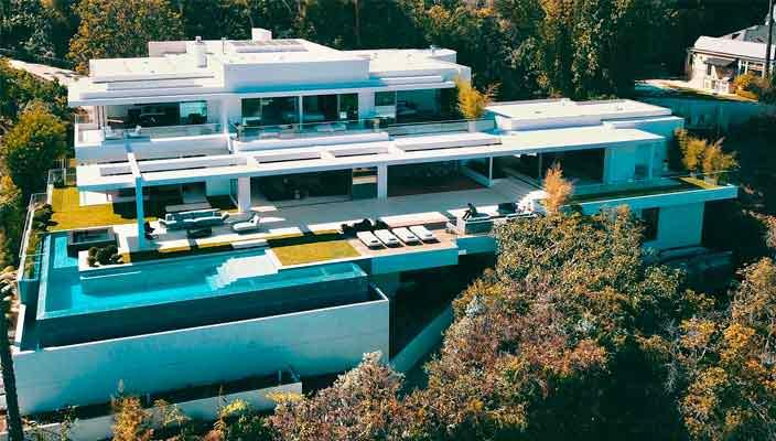 Продан бывший дом Майкла Бэя в Бель-Эйр | цена $41 млн, фото