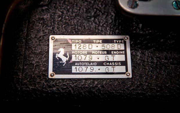 Номер шасси Ferrari 250 GT Series I Cabriolet