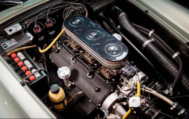 Двигатель V12 Ferrari 250 GT Series I Cabriolet