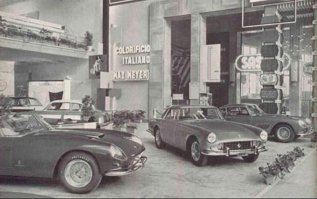Ferrari 250 GT Series I Cabriolet на Туринском автосалоне 1958
