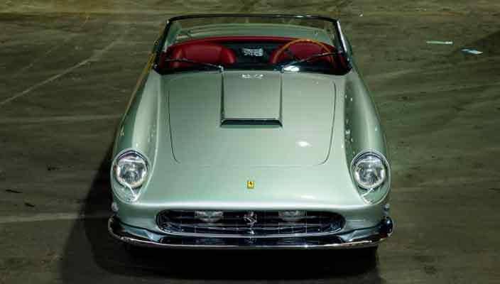 Ferrari 250 GT 1958 года арабского принца уйдет с молотка