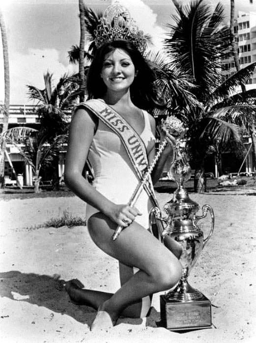 Георгина Риск - Мисс Вселенная 1971