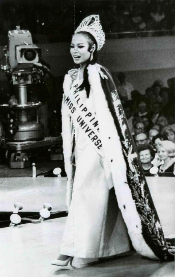 Глория Мария Диас - первая Мисс Вселенная из Филиппин