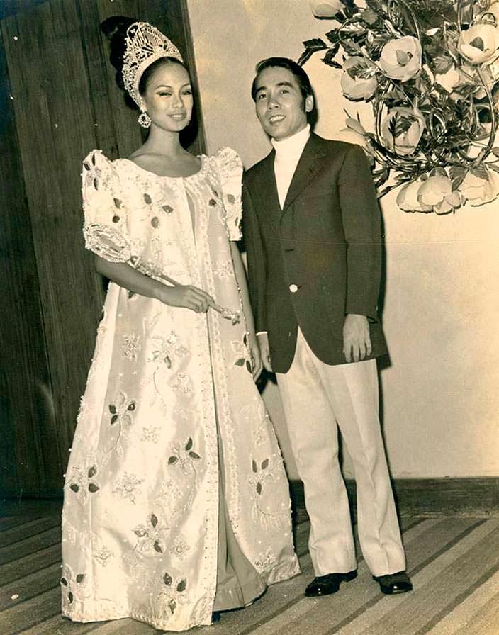 Глория Мария Диас - Мисс Вселенная 1969