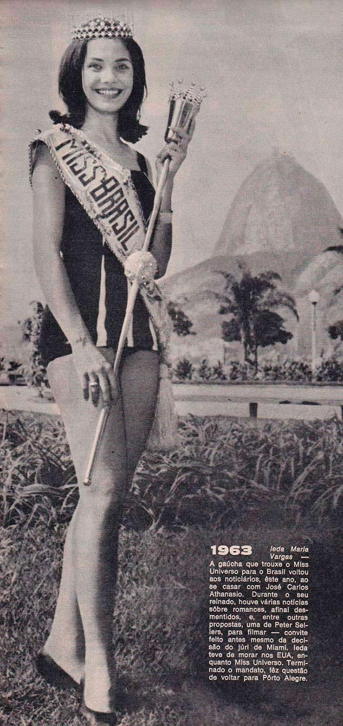 Йеда Мария Варгас - Мисс Бразилия 1963