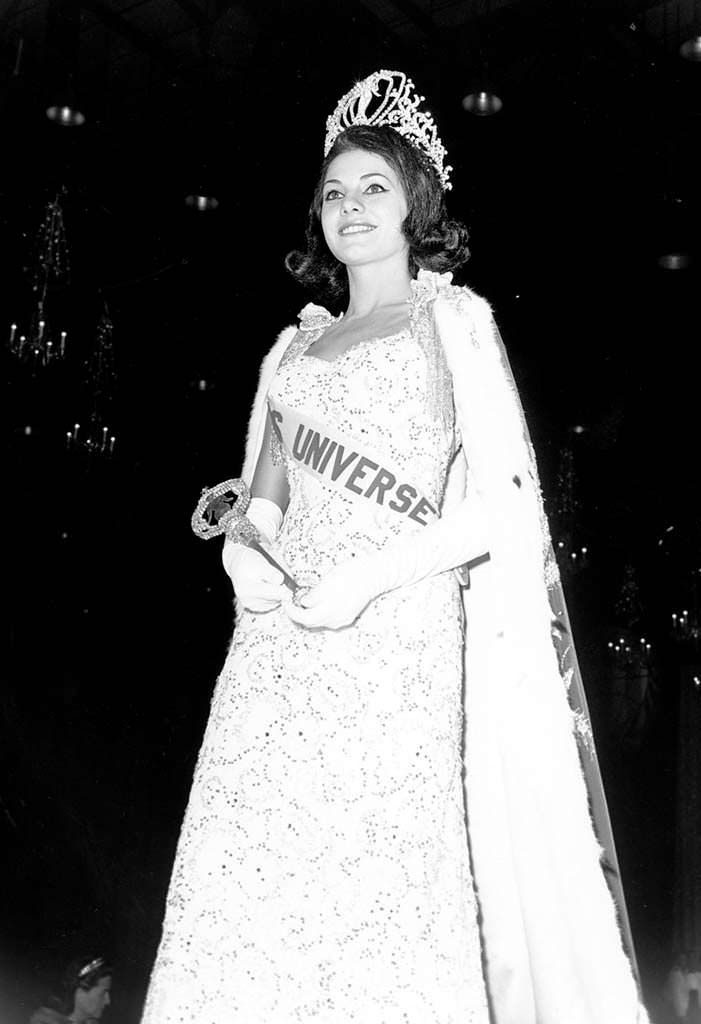 Йеда Мария Варгас победительница «Мисс Вселенная» из Бразилии
