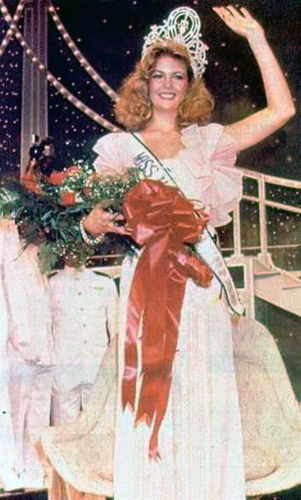 Ирене Саэс - венесуэльская Мисс Вселенная 1981