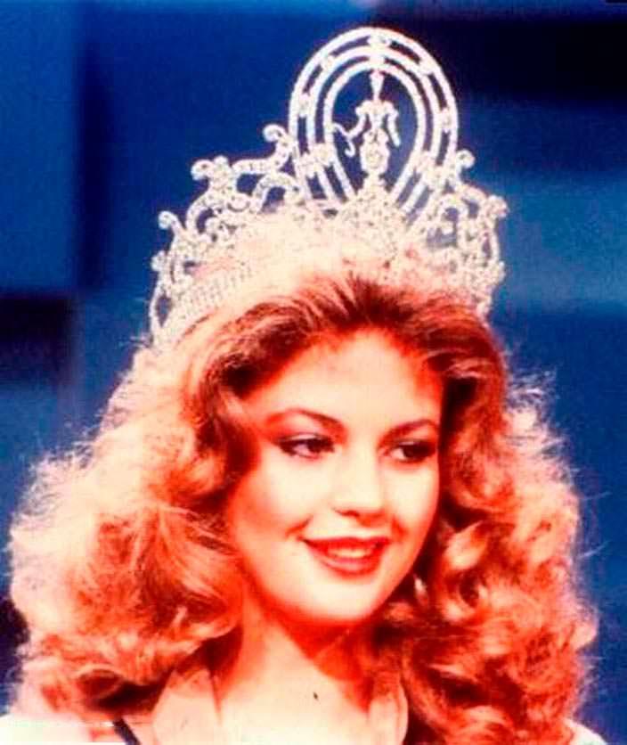 Ирене Саэс - будущий политик, Мисс Вселенная 1981
