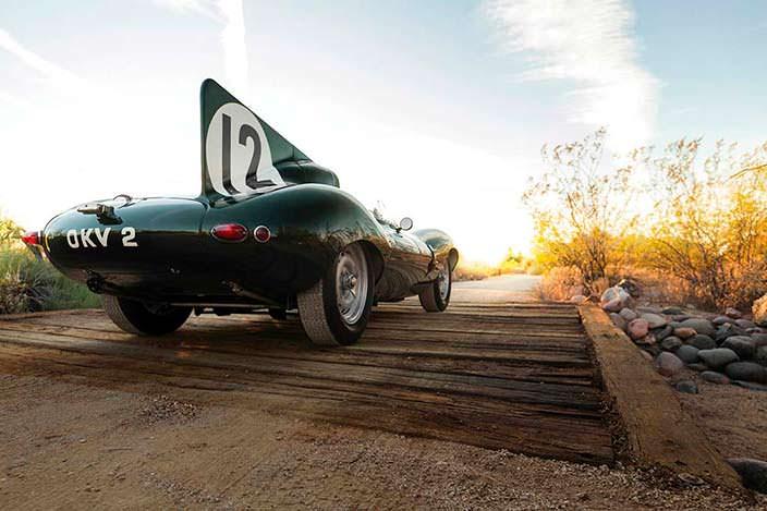 Культовый Jaguar D-Type 1954 года