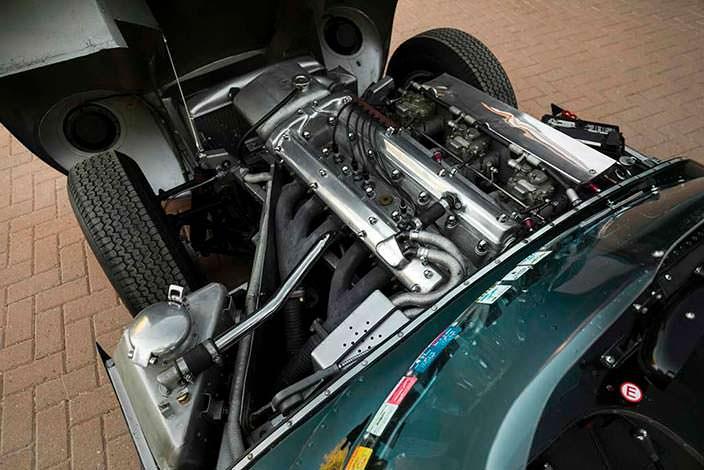 Мотор Jaguar D-Type 1954 года