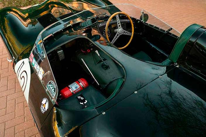 Фото салона Jaguar D-Type 1954 года выпуска